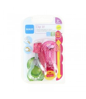MAM Perfect Night Silicone Soother 6+ m in the Sterilising box