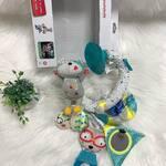 Badabulle mänguasi autosse on lõbus kõrinaga, närimisrõngaga ja peegliga painutatav mänguasi, lahutab lapse meelt autoga sõidu ajal 🚗 Mänguasi on kergesti iminappaga kinnitatav autoakna külge 🥳 —————————- Badabulle игрушка в машину это веселое и гибкое приспособление с погремушкой, прорезывателем для зубов и зеркалом, которое развлечет малыша в дороге 🚗 Игрушка легко крепится к автомобильному стеклу с помощью присоски 🥳 —————————- Badabulle car mobile is a fun and flexible accessory with a rattle, teether and a mirror, that will keep your little one entertained on the car trip 🚗 The toy is easily attached to the car window with a suction cup 🥳  #lkonsaadaval #lastekaubad  #lastekaubadkesklinn  #lastekaubadeesti  #lastekaubadtallinnas #badabullemänguasi #mänguasiautosse #automänguasi #lastegareisil  #lastegareisimine  #lastegareisile  #badabulleeesti #badabulleestonia #badabullecarmobile #carmobiletoys  #childrencartoy  #childrencartoys #babystoreestonia #babyshopestonia  #cartripwithkids  #badabulleигрушки  #игрушкавмашину  #детскаяигрушкавмашину #игрушкавмашинунаприсосках  #игрушкавмашинуэстония #путешествиенамашине #поездкасдетьми  #детскиетовары #детскиетоварыэстония #детскиетоварыталлинн