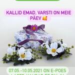 Juba varsti on Emadepäev🌷ning selle puhul 07.05.-10.05.2021 on e-poes laste-kaubad.ee 🐰 palju huvitavaid pakkumisi 🥰  —————————— Уже совсем скоро День Матери🌷и по этому случаю 07.05.-10.05.2021 в интернет-магазине laste-kaubad.ee 🐰 много интересных предложений 🥰  —————————— Very soon is Mother's Day🌷and on this occasion 07.05.-10.05.2021 in the online store laste-kaubad.ee 🐰 there are many interesting offers 🥰  #lkallahindlus  #lastekaubadmustamäe  #lastekaubadtallinnas  #lastekaubadeesti  #beebitarvetekotid  #lutipudelisoojendaja  #beebimonitor  #emadus #emadepäev  #emadepäevaks #emadepäev2021  #babyshoptallinn  #babyshopestonia  #babystoretallinn  #babystoreestonia  #babymonitors  #diaperbags  #diaperbagestoni #bottlewarmer  #mothersday  #mothersdaydiscounts  #mothersday2021  #детскиетовары #детскиетоварыталлинн #детмкиетоварыэстония #радионяняэстония #сумкадлямамыималыша  #сумкадлямамыималышаэстония